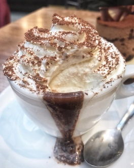 La Piazza by Signorelli Grafton Cambridge Italian hot chocolate