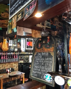 The Flying Pig Cambridge bar menu