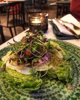 Mercado Central Cambridge green salad