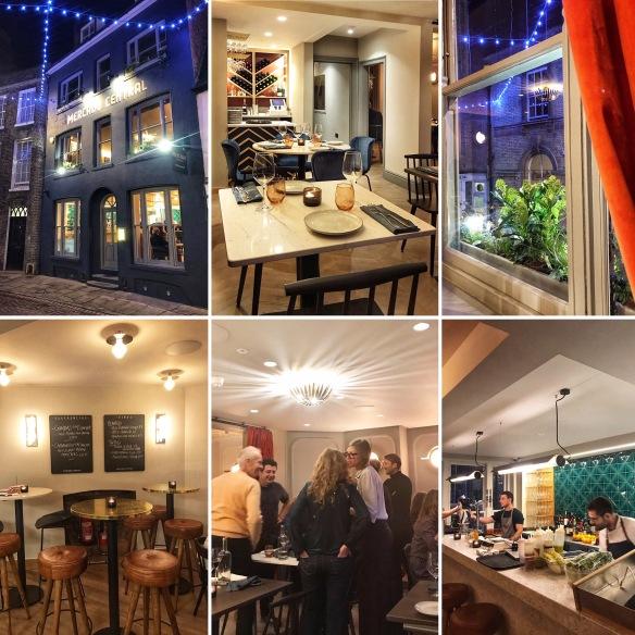 Mercado Central Cambridge restaurant collage