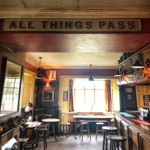 The Gunton Arms Norfolk bar All Things Pass