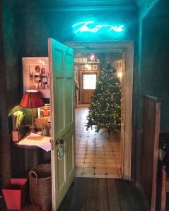 The Gunton Arms Norfolk Christmas tree