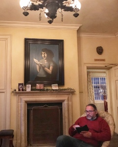 The Gunton Arms Norfolk residents lounge fireplace