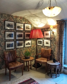 The Gunton Arms Norfolk seating corner