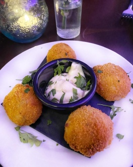 La Raza Cambridge salt cod croquetas
