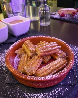 La Raza Cambridge churros