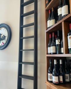 The Wine Rooms Cambridge ladder