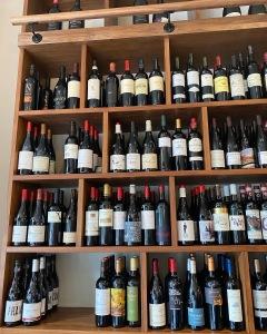 The Wine Rooms Cambridge wall of wine