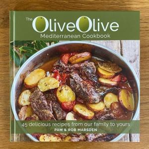 The OliveOlive Mediterranean Cookbook cover