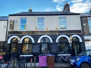Kingston Arms Cambridge exterior 33 Kingston Street