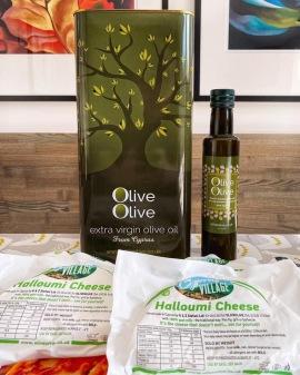 OliveOlive halloumi and olive oil