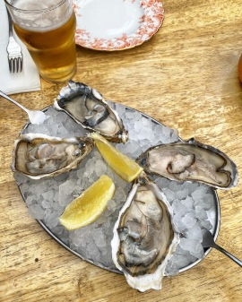 Kingston Arms Cambridge oysters