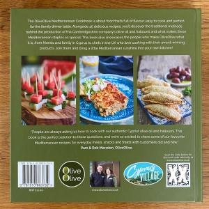 The OliveOlive Mediterranean Cookbook back
