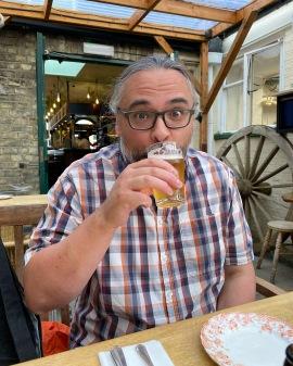 Kingston Arms Cambridge Vedett beer